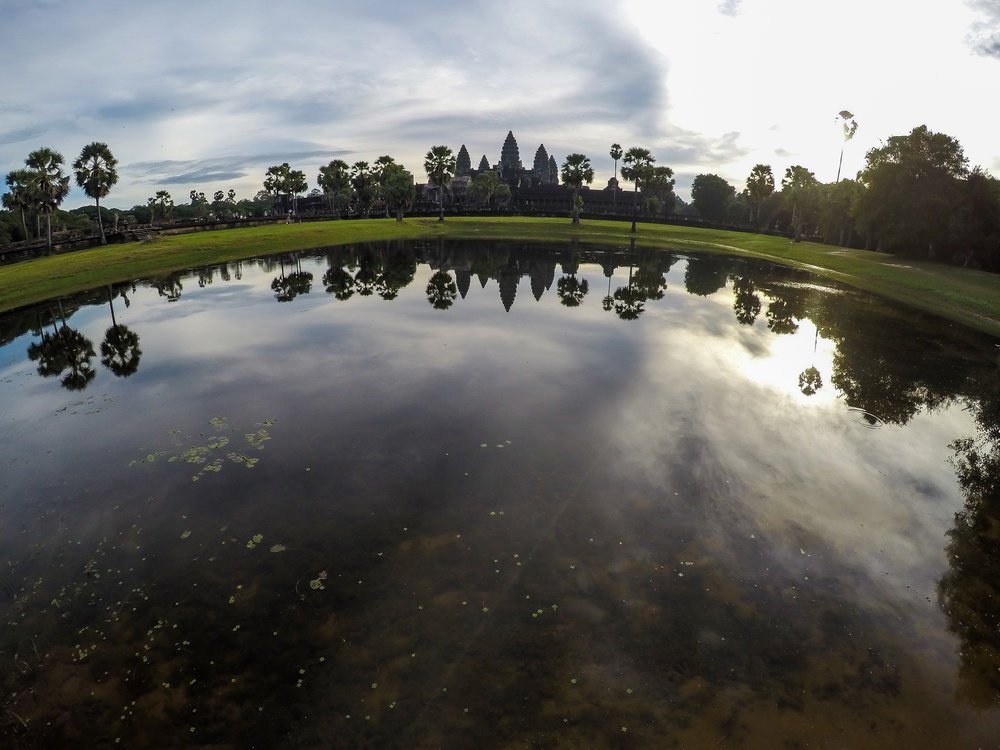 One Moment At A Time | Angkor Wat, Siem Reap, Cambodia, Asia | DoLessGetMoreDone.com |