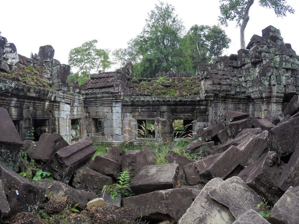 One Moment At A Time   Preah Khan, Angkor, Siem Reap, Cambodia, Asia   DoLessGetMoreDone.com  