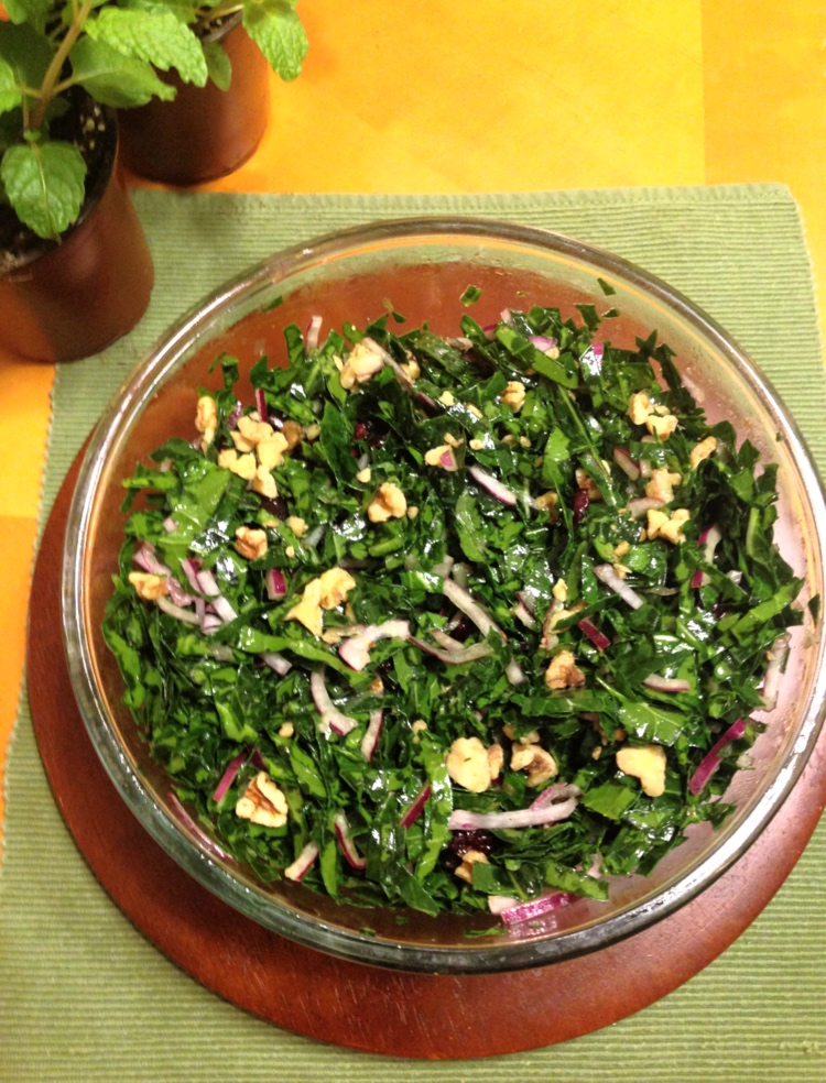 FarmDaddy Raw Collard Green Salad 3