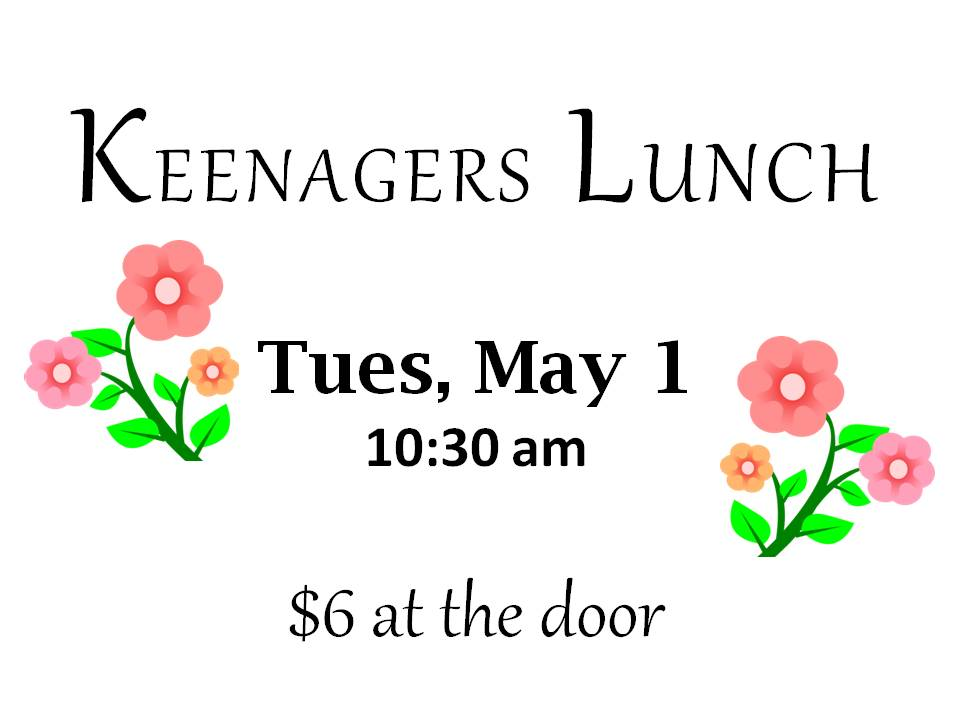 May Keenagers Lunch.jpg