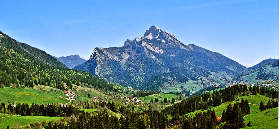 Here's an idyllic picture of the Alps from somewhere in Switzerland to lighten the mood.