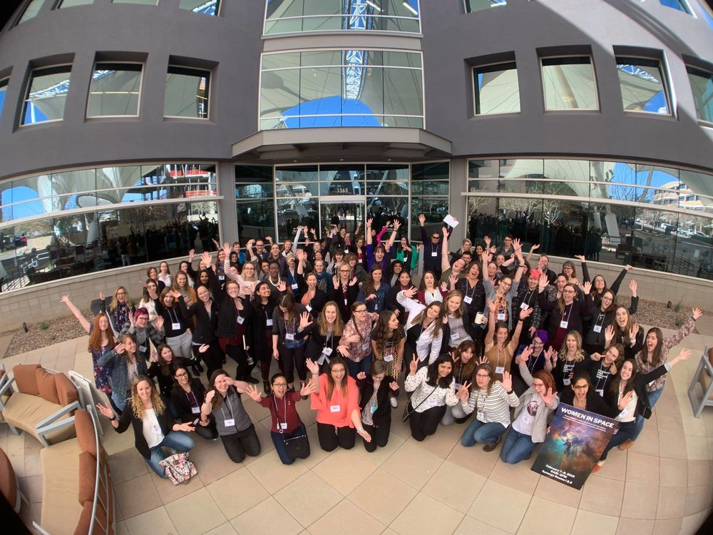 It's all fun and all space at Women in Space 2019! As we look towards the future it's likely the conference will continue to grow, but hopefully all the things that make it good will manage to stay.