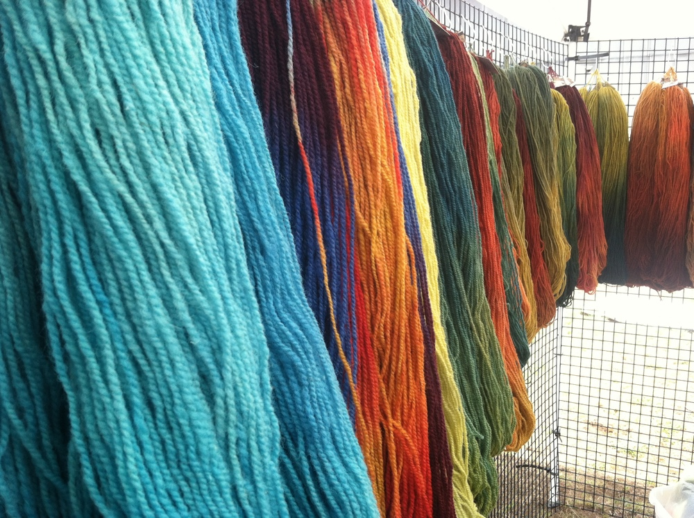 Yarns for shows, yarns for online sales, yarns for kits, yarns for new designs .....