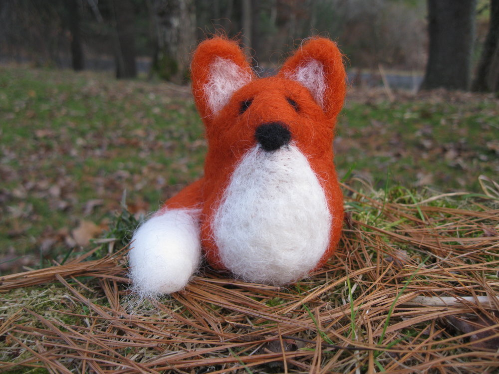 Simple techniques make this cute little fox!