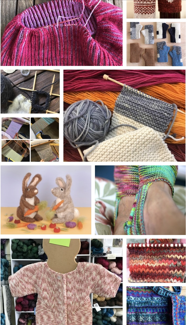 Knitted things for children: do we buy or manufacture ourselves
