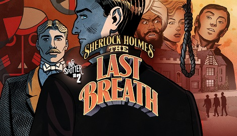 Book 2: The Last Breath Sherlock investigates the murder of Lady Sybil Chadwick, found strangled in her own library. Behind the walls of an English country manor he will find a shrunken head, a forbidden book, an assassins' cult... and himself, helpless in a killer's grasp.