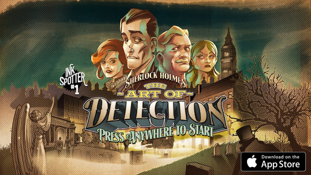 Sherlock Holmes - The Art of Detection Called in to solve the disappearance of a fashionable young man, Sherlock is initially amused to discover a feisty barmaid, three talkative parrots, and an Undertaker's Mute. Then Watson is kidnapped, and the game turns deadly serious...