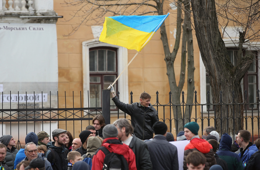 Crimeans will vote on March 16 whether to remain an autonomous state within Ukraine or to join the Russian Federation.Photo via aol.com