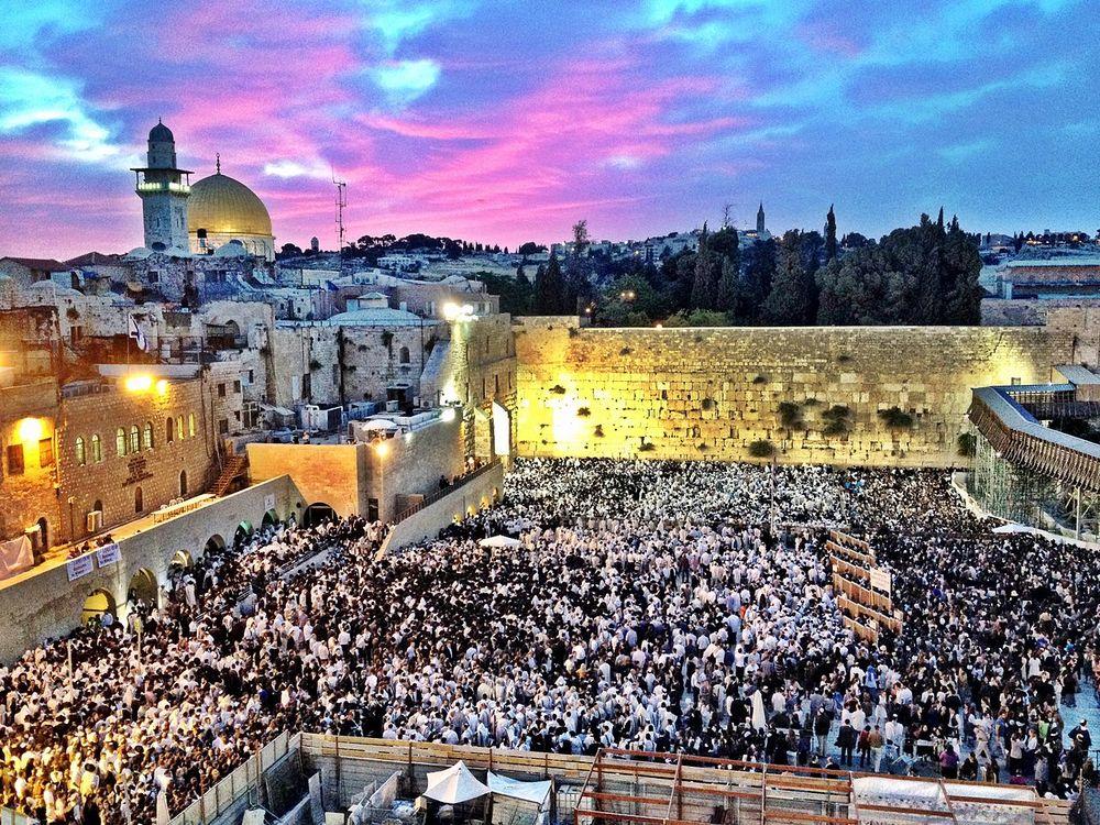 Modern day Jerusalem.