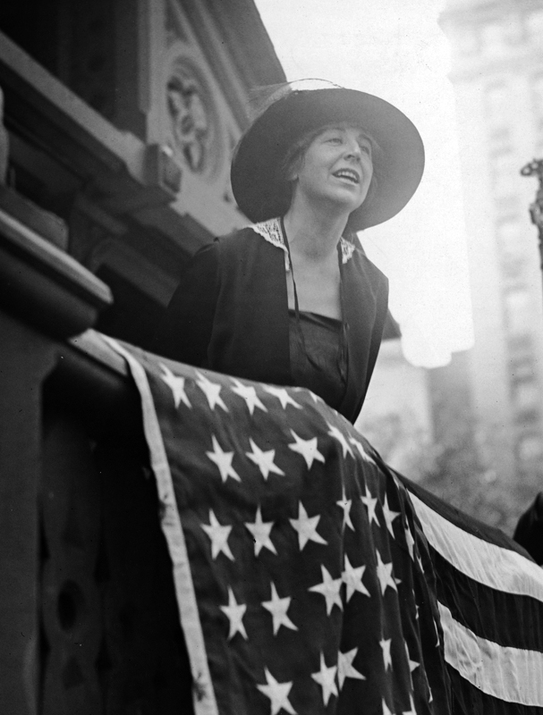Jeannette Rankin was the first woman in the U.S. Congress.