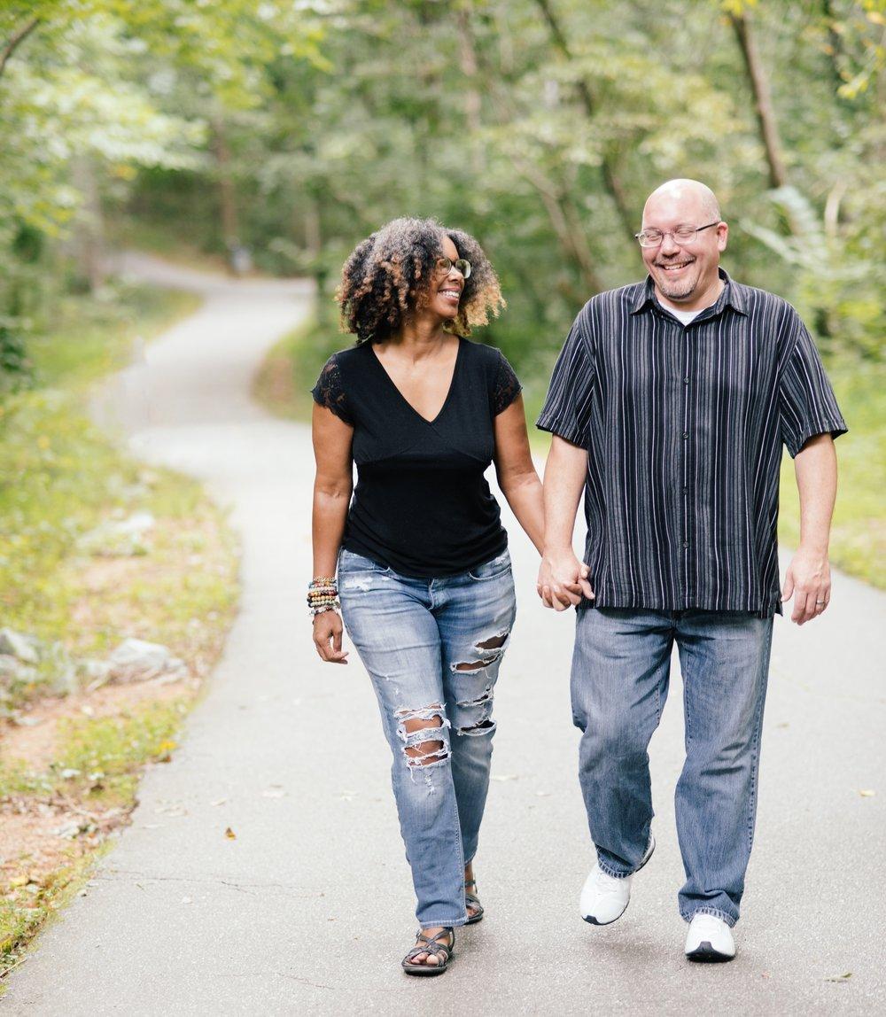 Sherry & her husband, Ben.