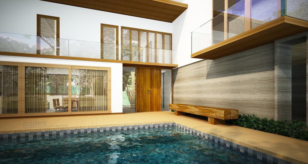 Exterior : Pool