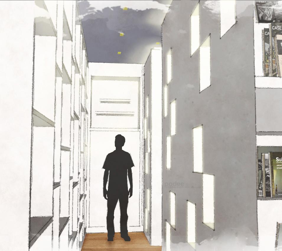 Corridor Buddha Shelf