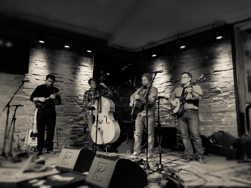 Scott Slay and the Rail pictured at Sehkraft Brewing in Arlington, VA