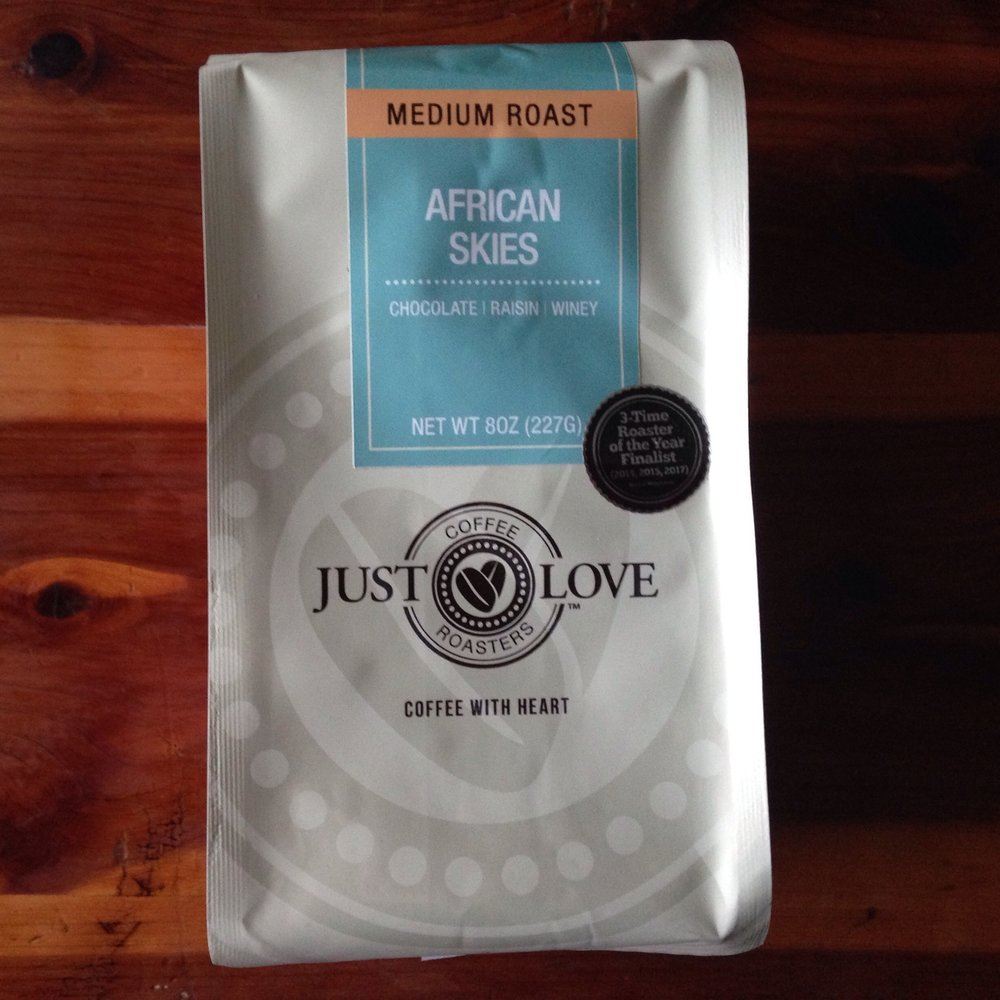 Item to Use   African Skies blend from Just Love Coffee   justlovecofee.com