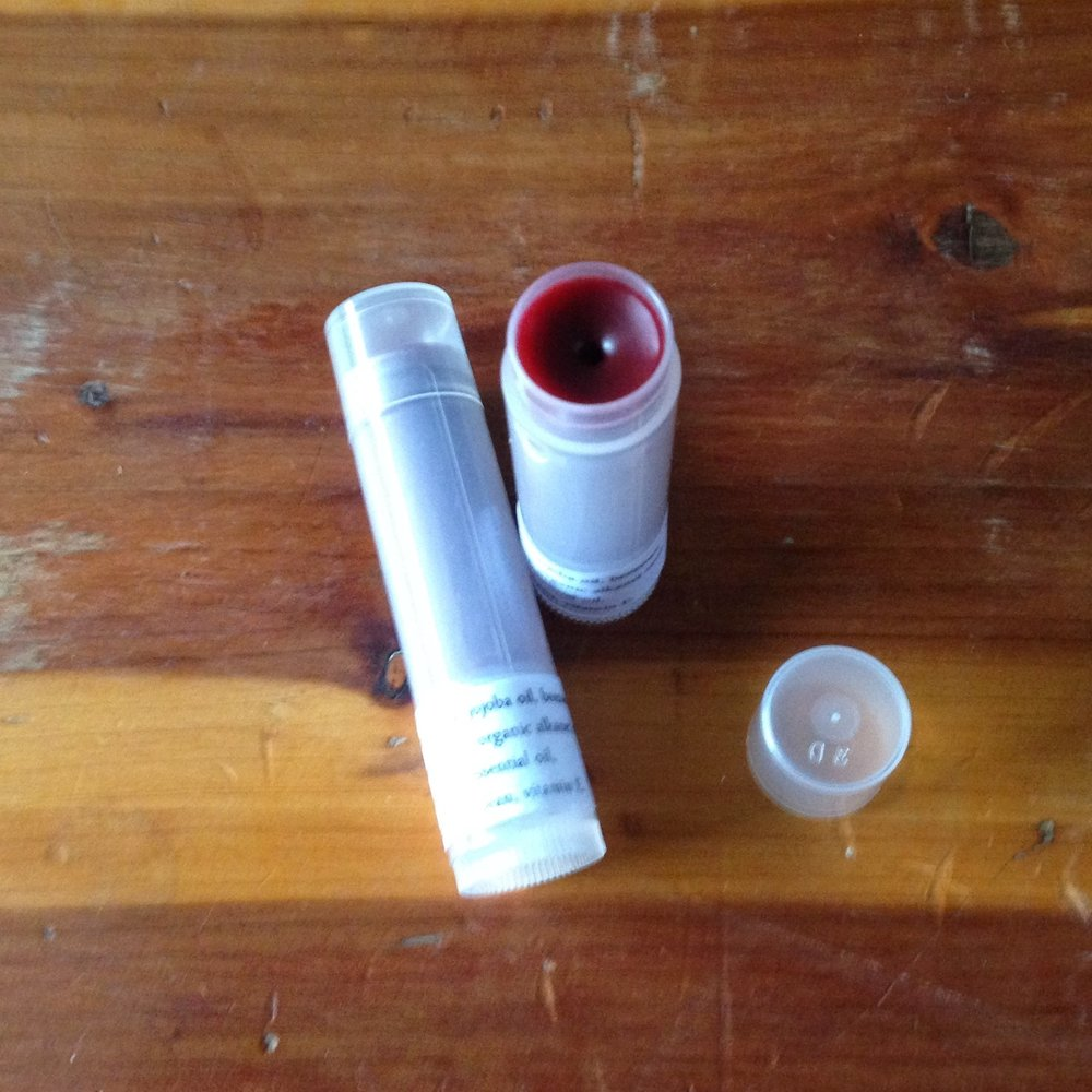 Item to Use   Tinted Lip Balm from Sweet Thistle Boutique