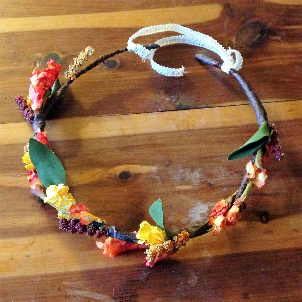 Item to Last   Floral Halos from Jami Taylor