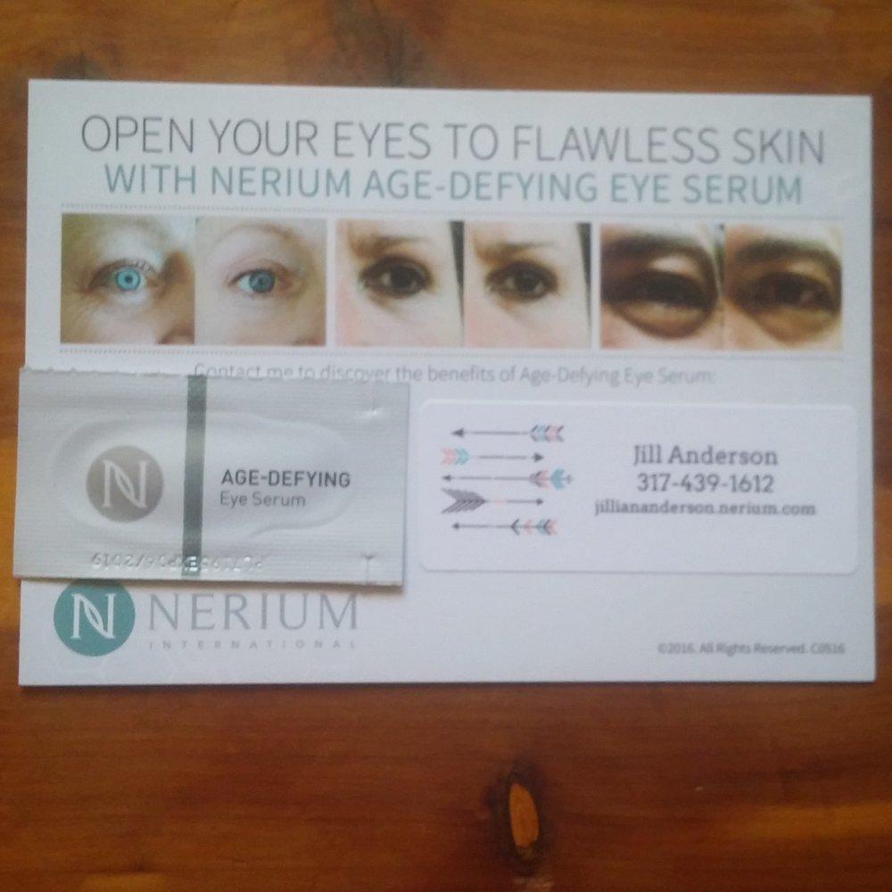 Item to Use   Nerium Eye Serum   jilliananderson.nerium.com