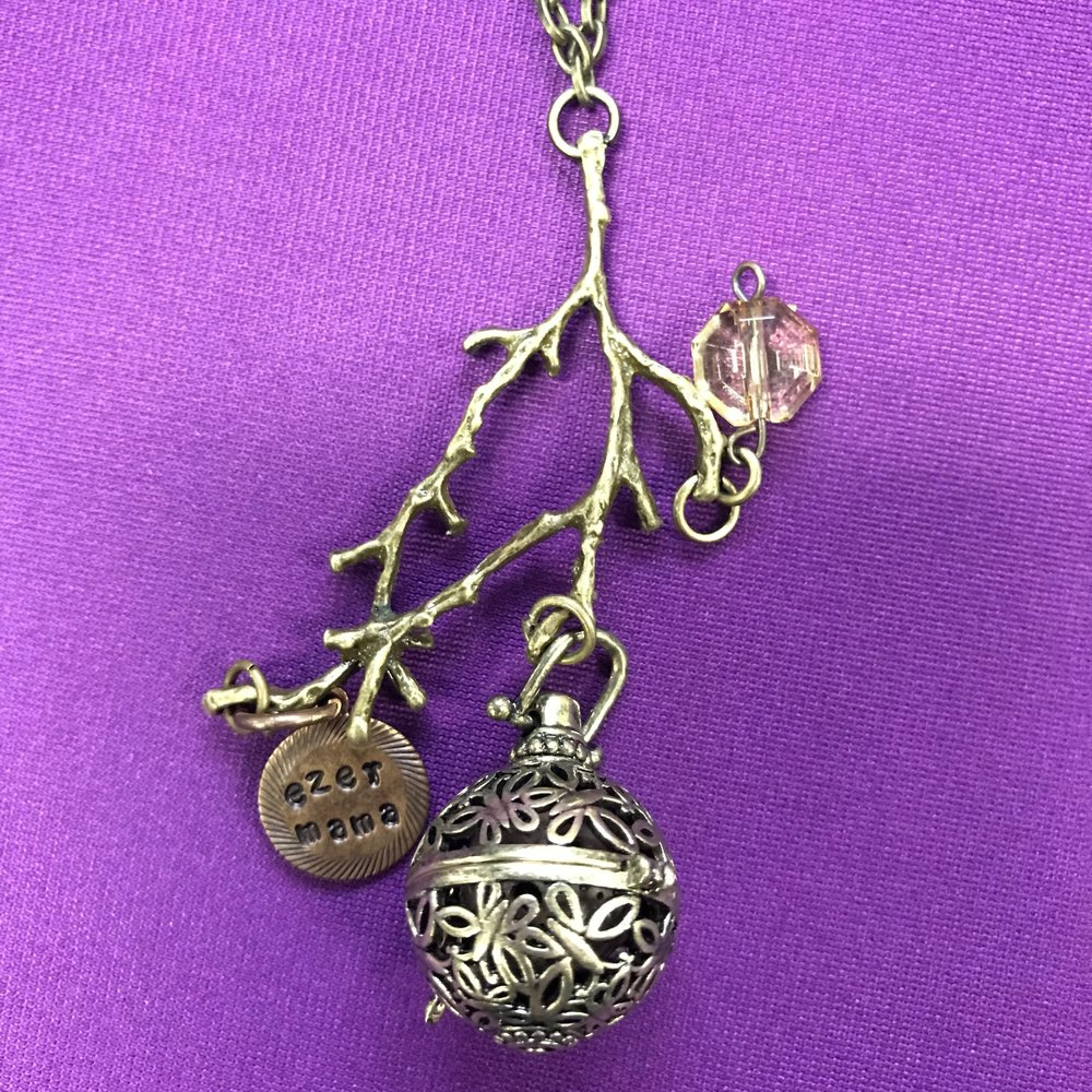 Ezer Mama Essential Oil Locket   The Ezer Mama locket is given as a gift in your first subscription box!