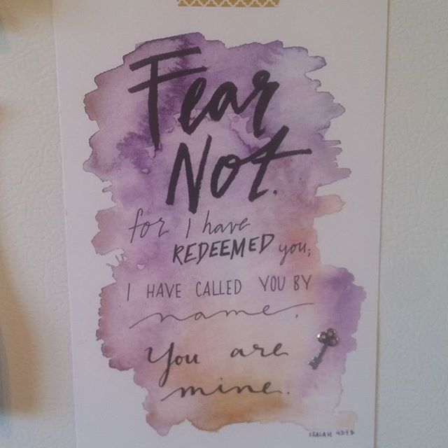 Isn't our November scripture card gorgeous? What a fabulous reminder of our true identity!  Haven't subscribed for your box yet? Don't worry! We still have a limited number of November boxes left!  www.ezermama.com/subscribe  #ezermama #fearnot #subscriptionbox #selfcare