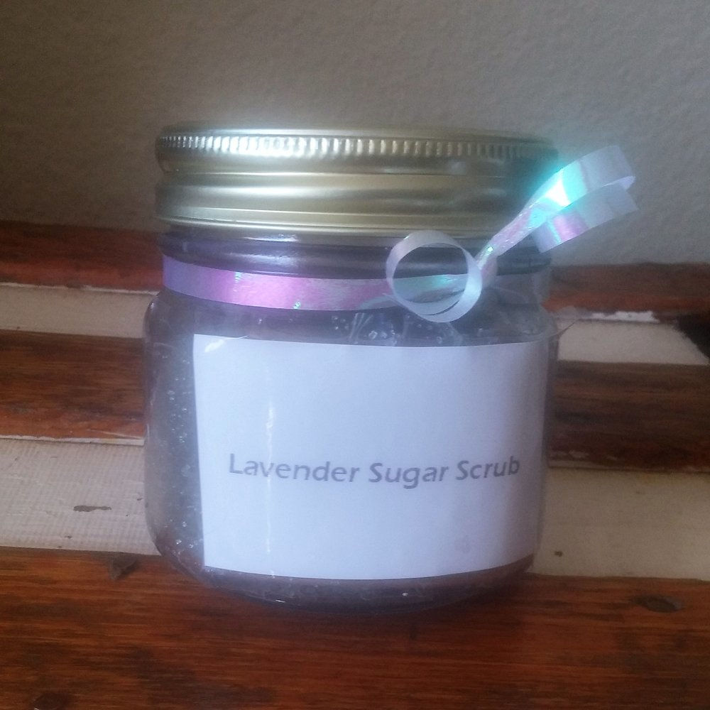 Item to Use   Lavender Sugar Scrub by Amelia