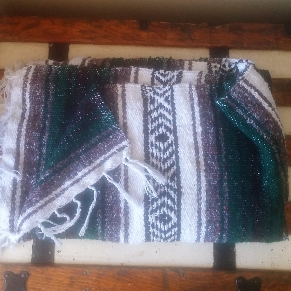 Ezer Pick   Mexican blanket from Cabo, Mexico
