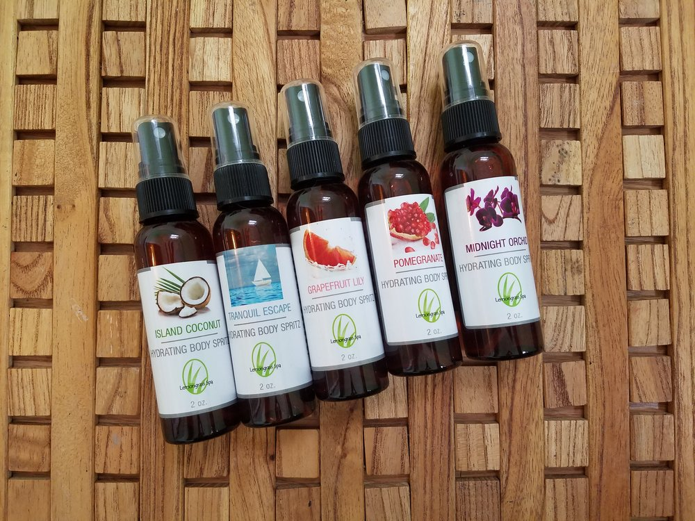 Item to Use   Lemongrass Spa Body Hyrdrating Spray
