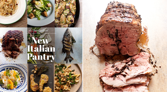 Roast Leg of Lamb with Fennel Pollen