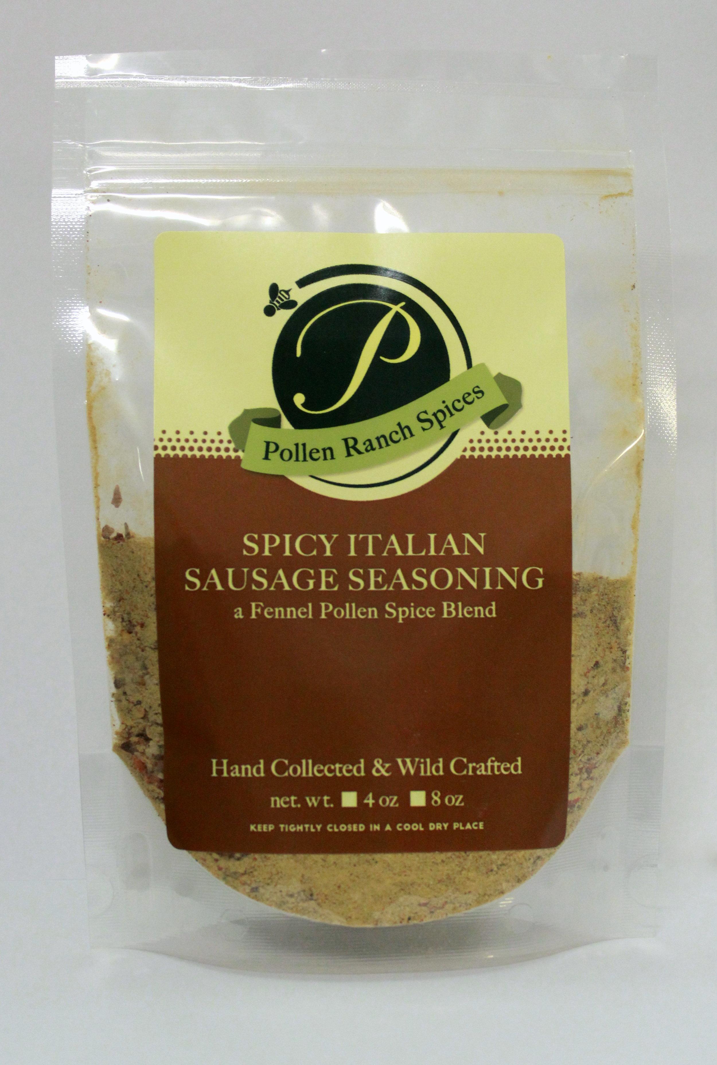 SPICY ITALIAN SAUSAGE SEASONING 4 5 OZ — Pollen Ranch