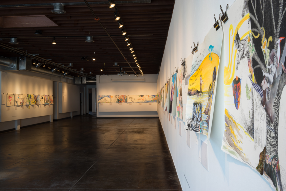 final installation view