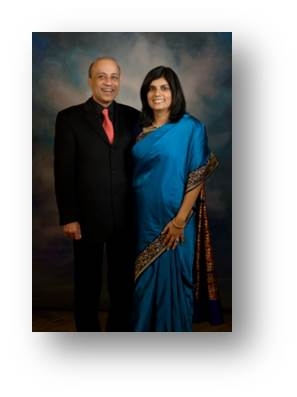 Dr. Vinay Jain and Mrs. Kanika Jain