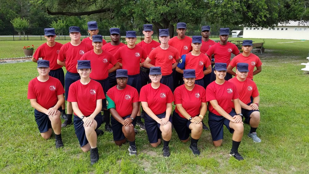 Florida Youth ChalleNGe Academy, Class 34 AMAP Grads.