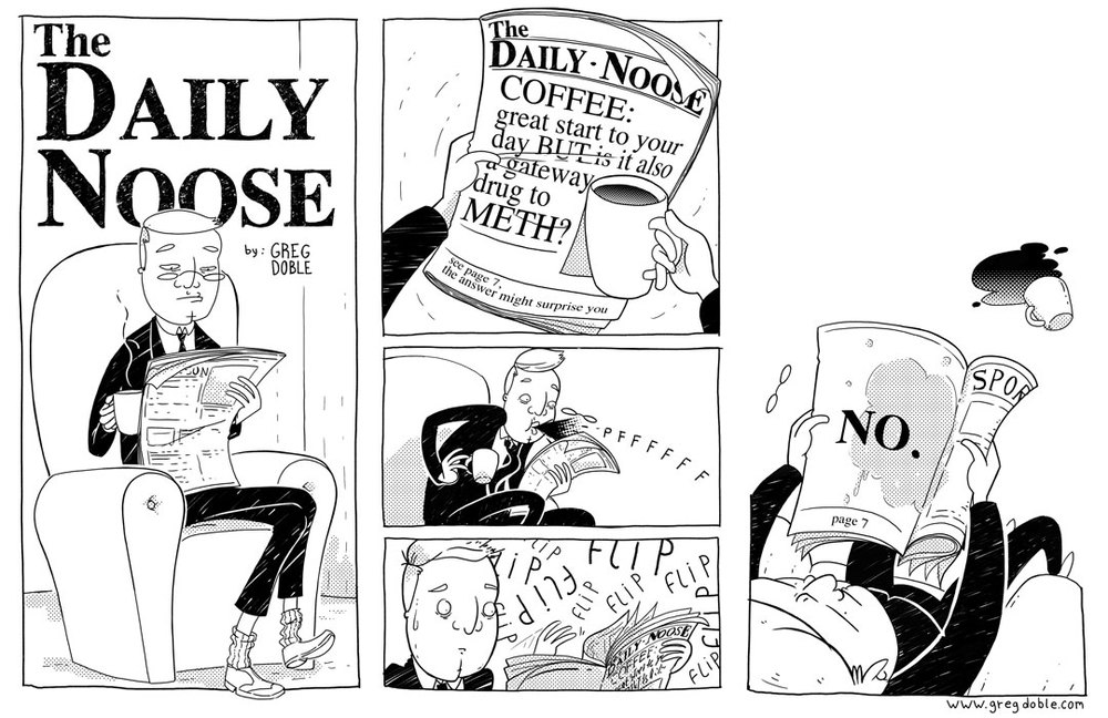 The Daily Noose - Crystal Clear Message