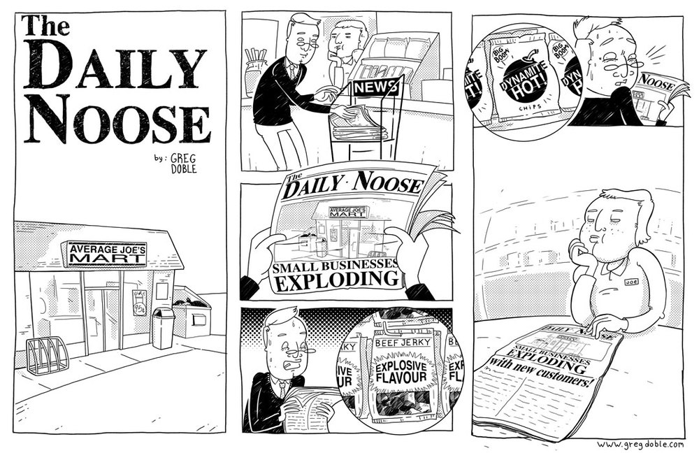 The Daily Noose - Booming Business