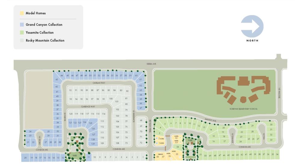 Sierra Crest Specific Plan, Fontana CA