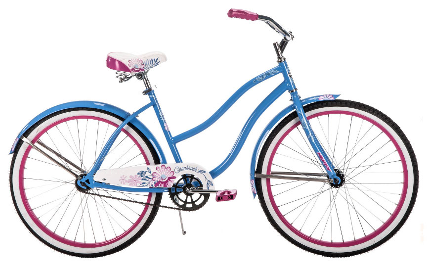"<span style=""font-size:0.9em;""><b>Huffy Cranbrook™<br> Women's Cruiser<br>26-Inch</BR></b></span>"