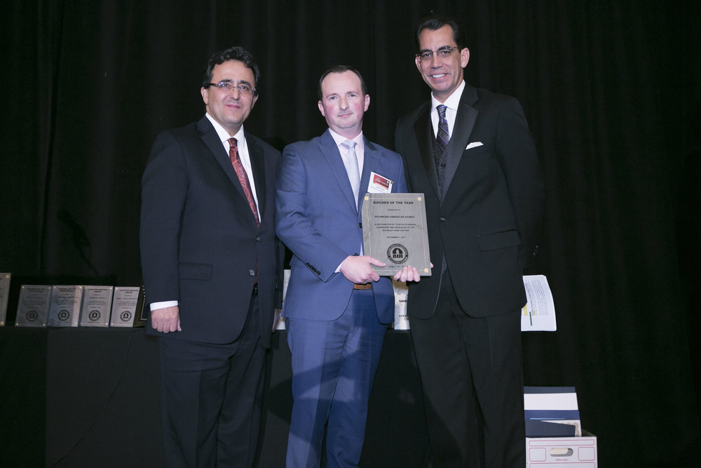 <b>BUILDER OF THE YEAR</b><br>Richmond American Homes
