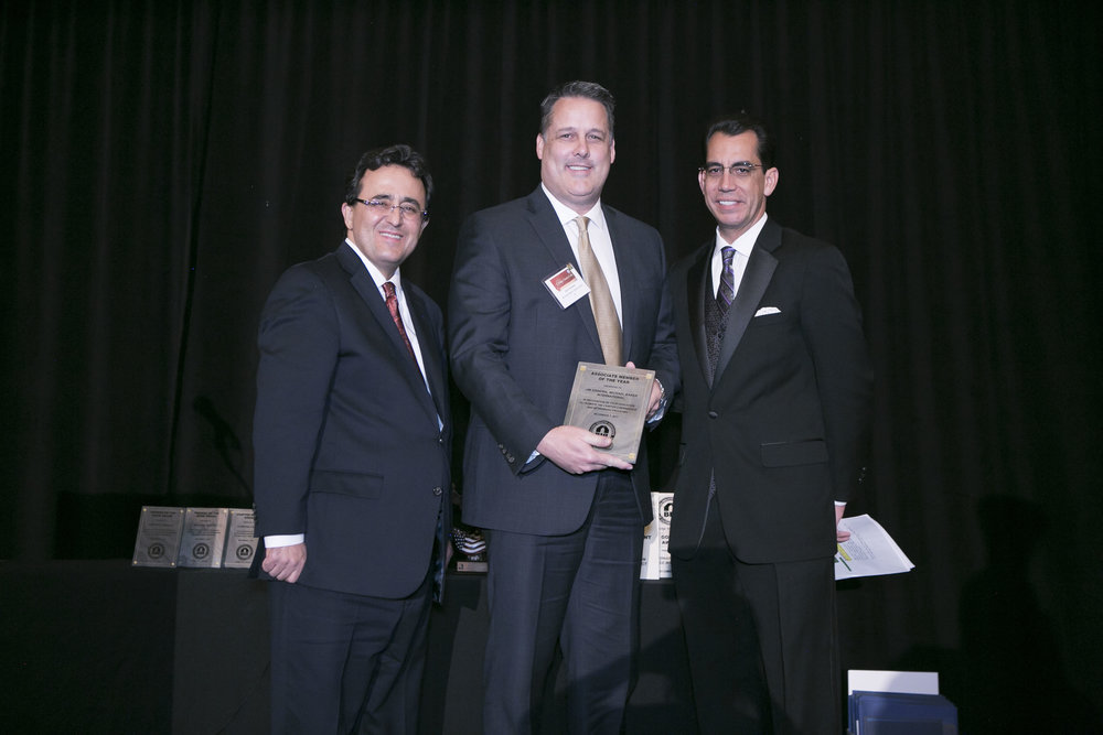 <b>ASSOCIATE MEMBER OF THE YEAR</b><br>Jim Sinnema, Michael Baker International