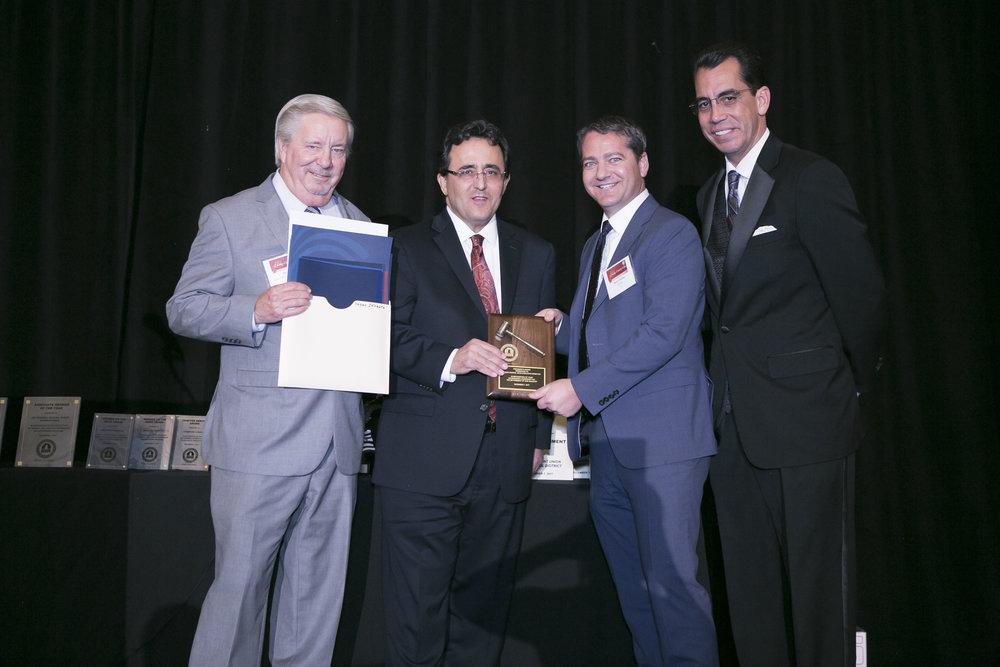 <b>PRESIDENT'S AWARD</b><br>Hasan Ikhrata, SCAG Executive Director