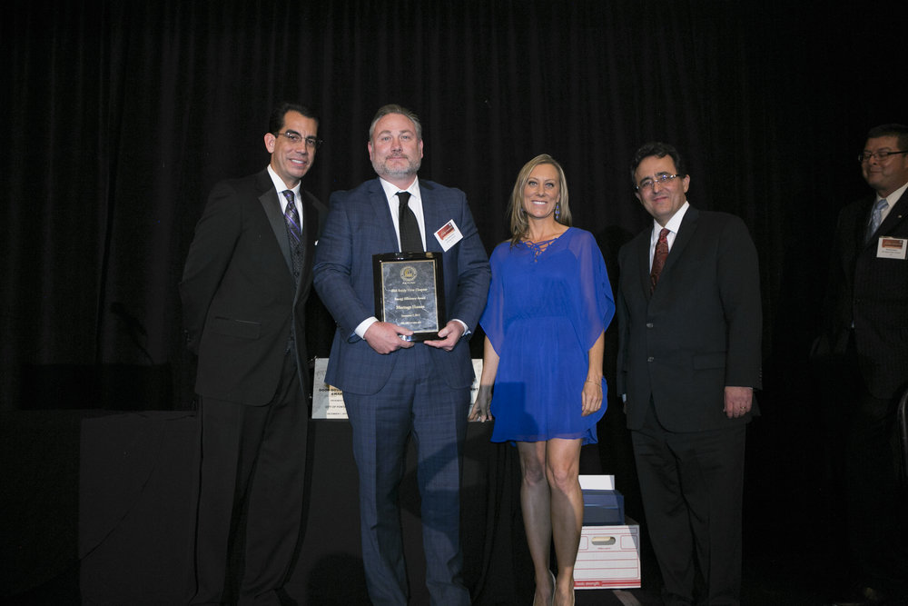 <b>ENERGY EFFICIENCY AWARD</b><br>Meritage Homes