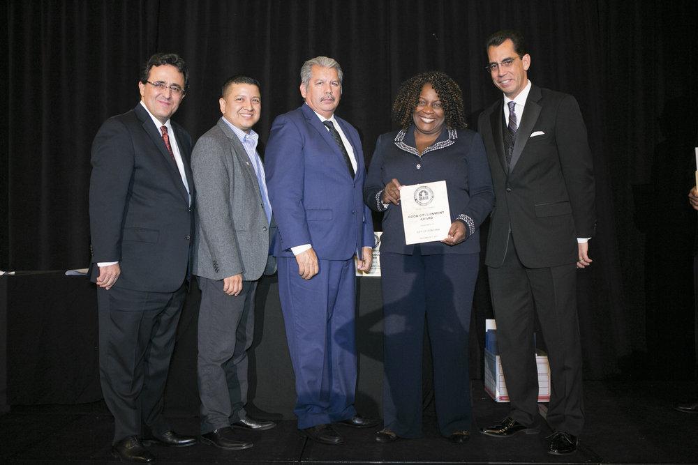 <b>GOOD GOVERNMENT AWARD</b><br>City of Fontana