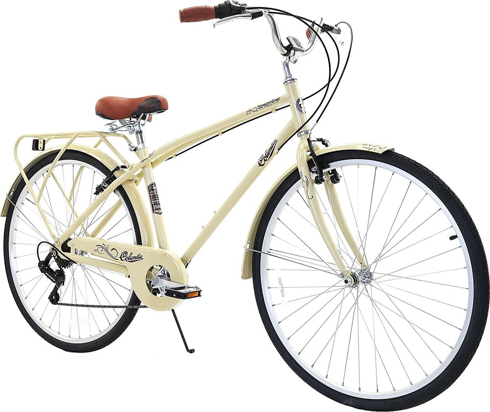 <b>Columbia Bicycles<br>Streamliner<br>700c Men's 7-Speed<br>City Cruiser Bike</b>