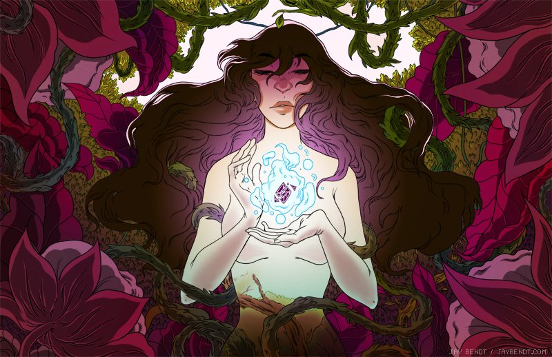 Image created for the supporters of Nightshade, a weekly online comic. READ THE COMIC HERE