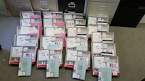 Me & By Big Ideas planner sets ready to be opened and designed!