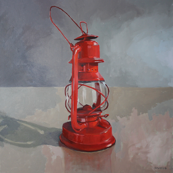 Lantern   2012 oil on canvas 30 x 30""
