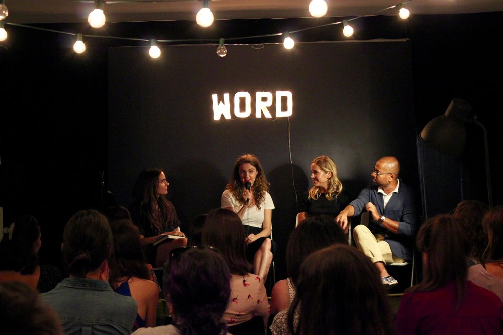 Stephanie Danler, Rumaan Alam, me // Word bookstore panel