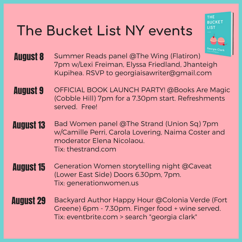 %22The Bucket List%22 NYC event.png
