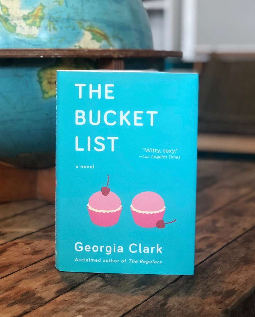 ... ask the staff if they have The Bucket List. You don't have to buy it,  but lots of customer enquiries signal that the book is hot hot hot.