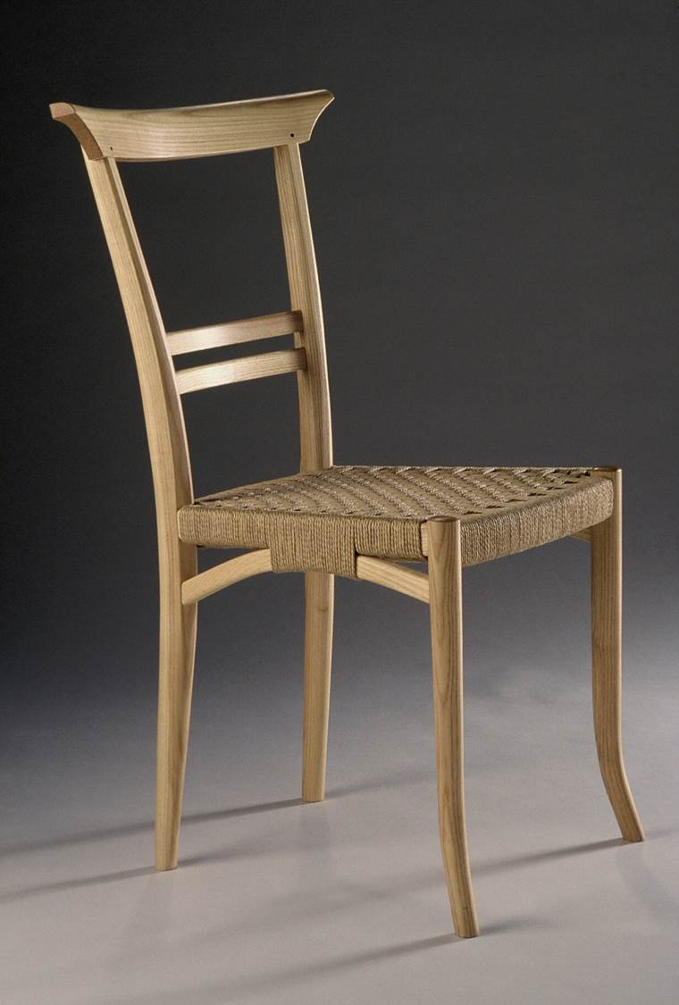 Delightful Ash Chair, 1981
