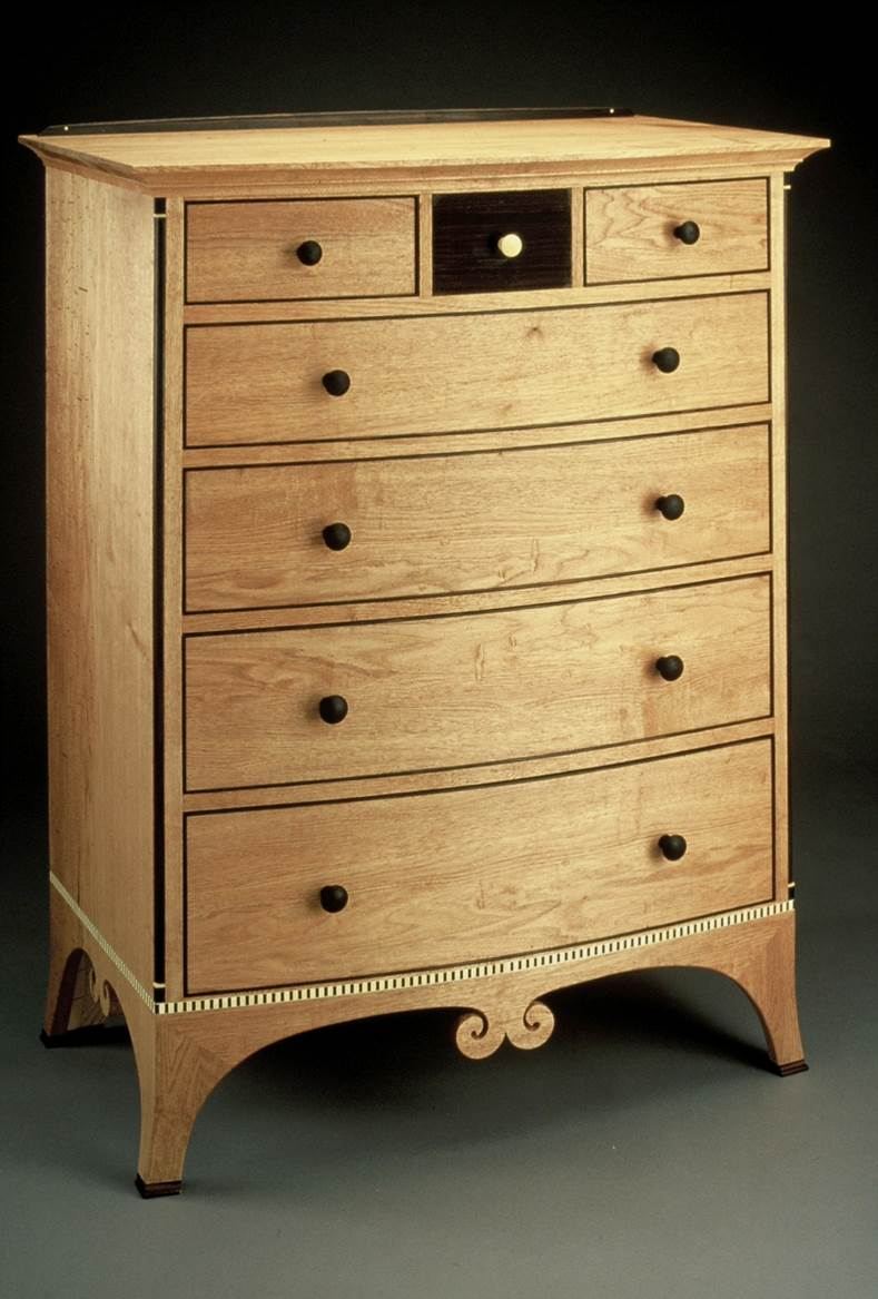 Butternut Chest of Drawers
